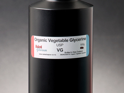 Organic - Vegetable Glycerin USP (VG) - 500g