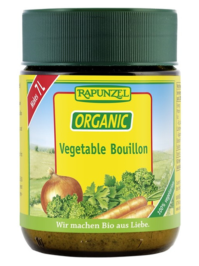 Organic Vegetable Powder (Bouillon) - 125g