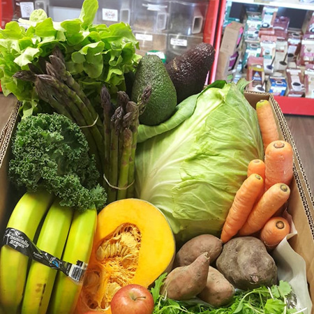 Organic/Sprayfree Fresh Seasonal Amore Food Produce Boxes (LOCAL ONLY)