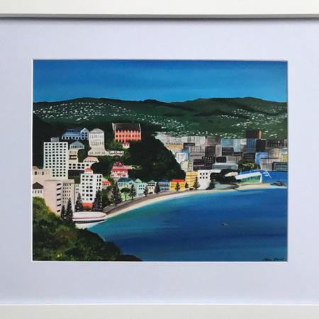 "Oriental Bay  - 11 x 14"" Frame"