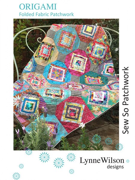 Origami Patchwork Quilt Pattern from Louise Wilson Designs