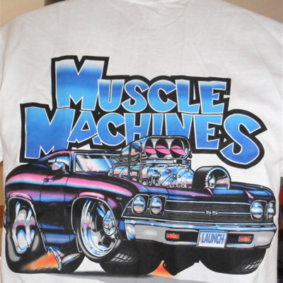 Original Muscle Machines T-shirts