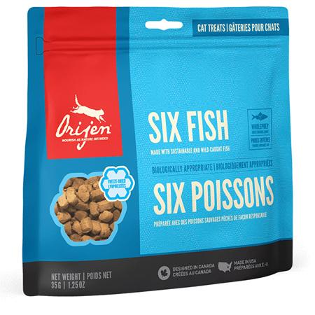 Orijen Cat Treat Six Fish