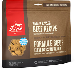 Orijen Dog Treat Ranch Beef