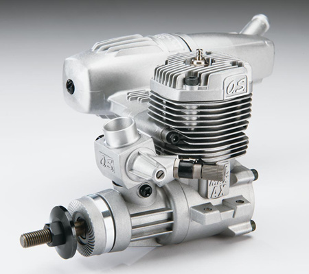 OS 46AX II Two Stroke Engine