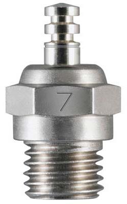 OS Number 7 Glow Plug