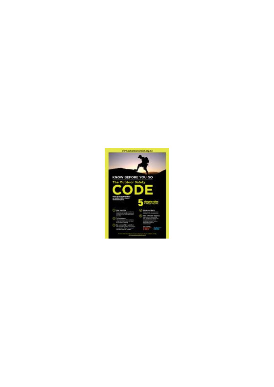 OSCPA3 - Outdoor Safety Code Poster (A3)