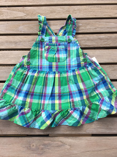 OshKosah Bgosh Green dress