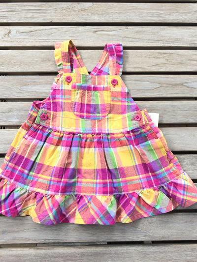 OshKosah Bgosh pink and yellow dress