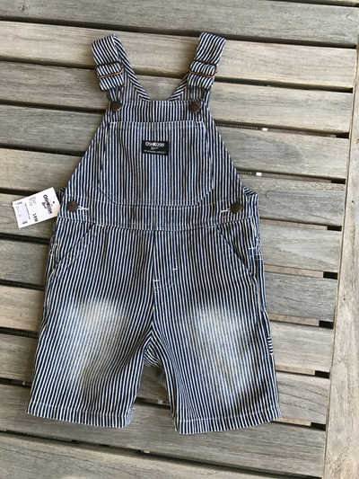 Oshkosh Denim stripe dungarees