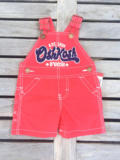 OshKosh  Red Dungarees