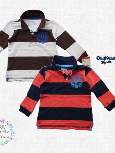 Oshkosh rugby shirt