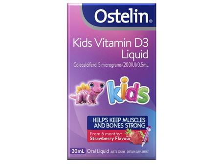 OSTELIN Vitamin D Liq. 200IU 20ml