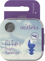 Otifleks Flier Flight Earplugs Size Large