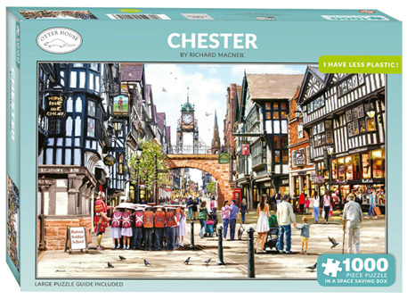 Otter House 1000 Piece Jigsaw Puzzle: Chester