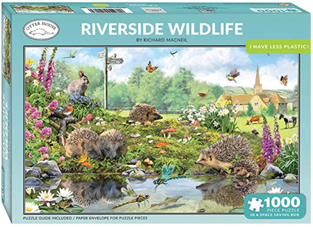 Otter House  1000 Piece Jigsaw Puzzle: Riverside Wildlife