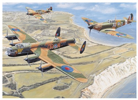 Otter House 1000 Piece Jigsaw Puzzle: Battle Of Britain