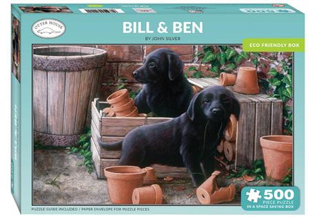 Otter House  500 Piece Jigsaw Puzzle: Bill & Ben