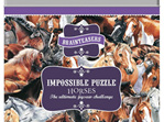 Otter House 500 Piece Jigsaw Puzzle: Impossibles - Horses