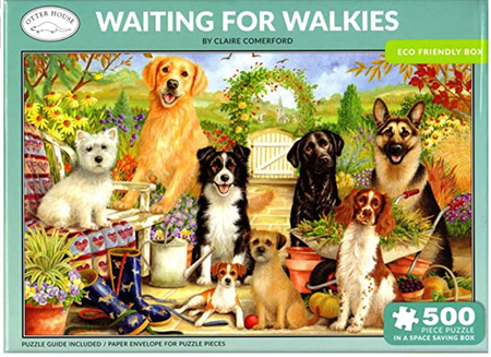 Otter House  500 Piece Jigsaw Puzzle: Waiting For Walkies
