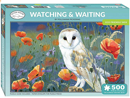 Otter House  500 Piece Jigsaw Puzzle: Watching & Waiting