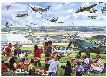 Otter House  500XL Piece Jigsaw Puzzle: Air Show
