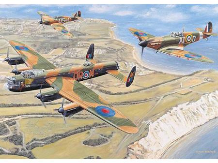 Otter House Battle Britain 1000 Piece Puzzle
