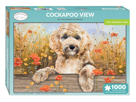 Otter House Cockapoo View 1000 Piece Puzzle