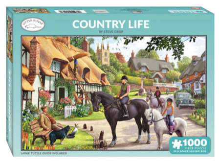 Otter House Country Life 1000 Piece Puzzle