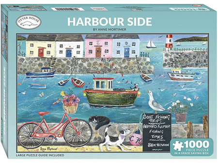Otter House Harbourside 1000 Piece Puzzle
