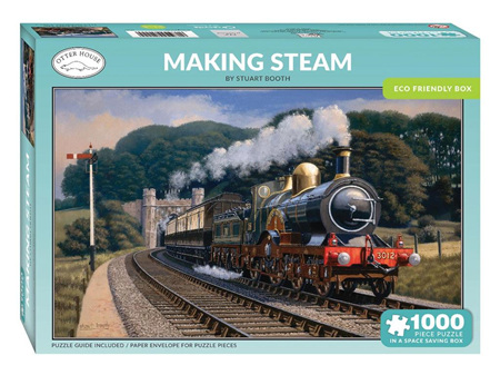 Otter House Making Steam 1000 Piece Puzzle