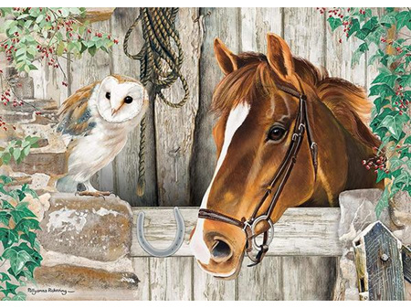 Otter House The Stable Door 1000 Piece Puzzle