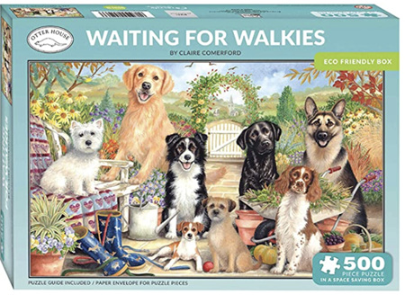 Otter House Waiting for Walkies 500 Piece Puzzle