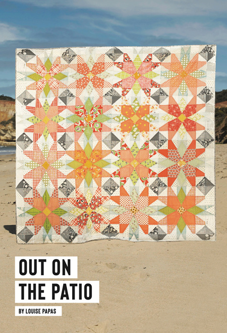 Out on the Patio Quilt Pattern from Louise Papas