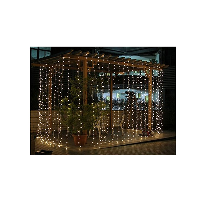 outdoor curtain fairy lights, commercial graded fairy lights, waterproof fairy