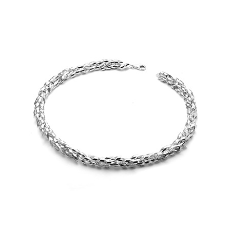 Oval Tube Necklace