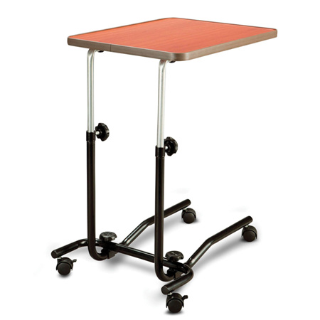 OVERBED/CHAIR TABLE TILTING WITH CASTORS