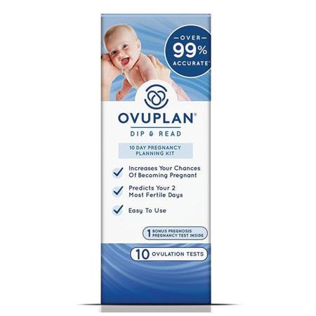 OVUPLAN PREGNANCY PLAN KIT 10 PACK