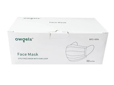 OWGELS FACE MASK 3 PLY