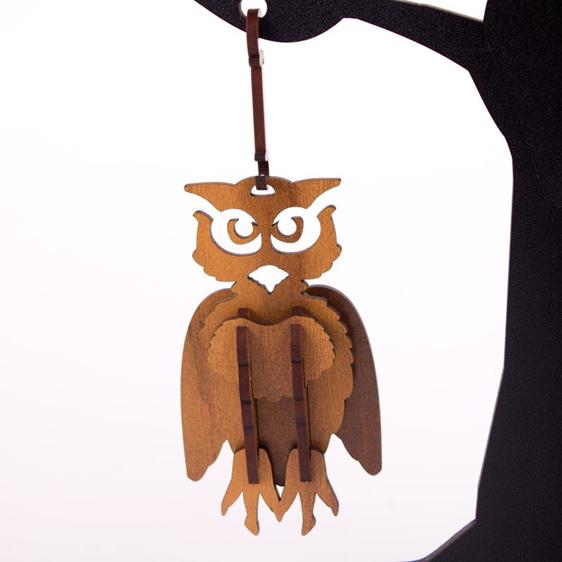 owl christmas decoration