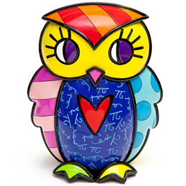 Owl Courage - Figurine - Romero Britto