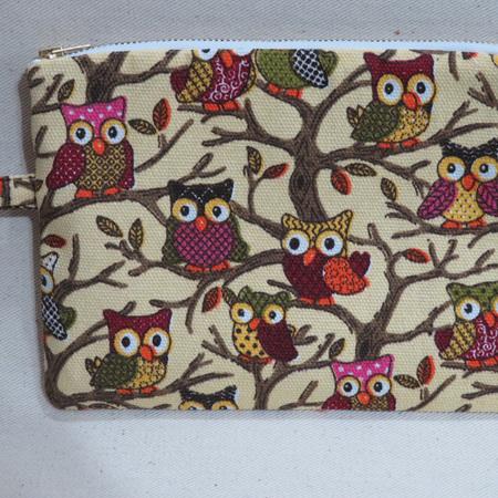 Owl Pencil Case - Medium