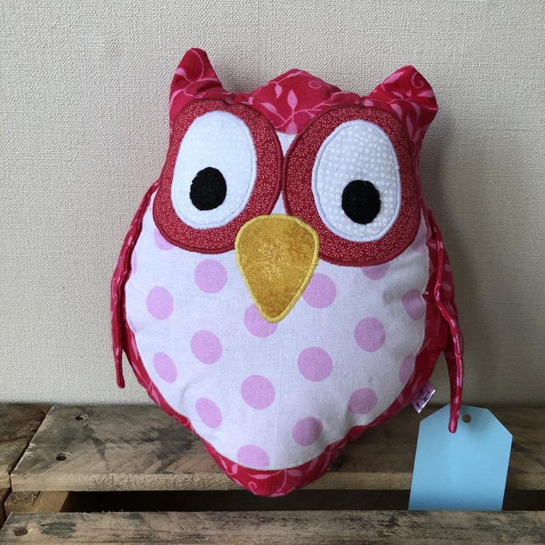 Owl - Pink dots