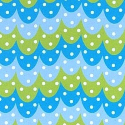 Owl Story - Gelati Owl Feather Blue