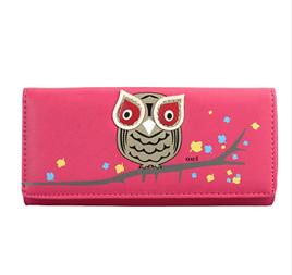OWL WALLET - Pink