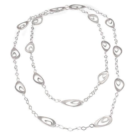 Oyster Xtra Long 30 Inch Necklace