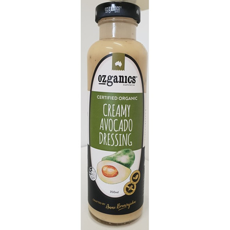 Ozganics Avocado Dressing 350ml