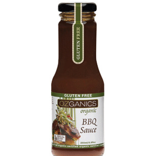 Ozganics Barbeque Sauce 250ml