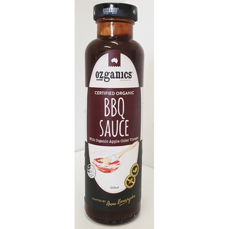 Ozganics Barbeque Sauce 350g