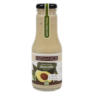 Ozganics Organic Creamy Avocado Dressing 250ml